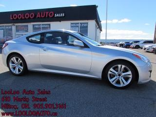 Used 2010 Hyundai Genesis Coupe 2.0T Premium Bluetooth Sunroof Certified 2YR Warr for sale in Milton, ON