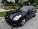 Used 2008 Infiniti G35X AWD, LEATHER, ROOF, CERTIFIED, LOW KMS for sale in Etobicoke, ON