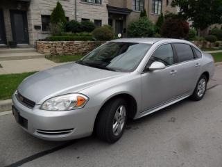 Used 2010 Chevrolet Impala LS, NEW TIRES, NEW BRAKES for sale in Etobicoke, ON