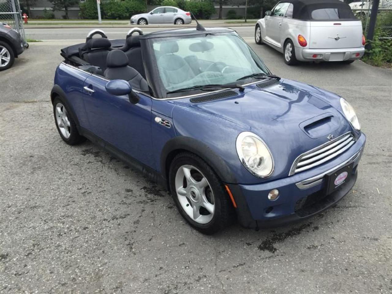 Photo of Blue 2005 MINI Cooper Convertible