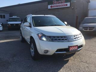 Used 2007 Nissan Murano 2007 NISSAN MURANO SE AWD LEATHER SUNROOF SAFETY&E for sale in London, ON