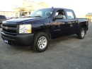 Used 2010 Chevrolet Silverado 1500 CrewCab WT 4.8 L 5.5ft Box for sale in Brantford, ON