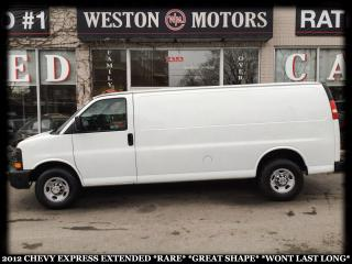 Used 2012 Chevrolet Express 2500 G2500*EXTENDED*RARE*WONT LAST LONG!!! for sale in York, ON