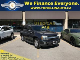 Used 2003 Chevrolet TrailBlazer 4X4, 2 YEARS POWERTRAIN WARRANTY for sale in Concord, ON