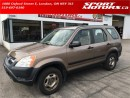 Used 2002 Honda CR-V LX for sale in London, ON