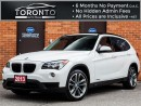 Used 2013 BMW X1 Sport line+Navi+Camera+Pano Roof+Rare for sale in North York, ON