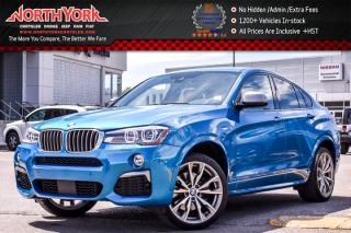 Used 2016 BMW X4 M40i|AWD|DriverAssistancePlus,TechnologyPkgs|Sunroof|ParkAssist|20