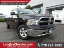 Used 2016 Dodge Ram 1500 ST ACCIDENT FREE w/ 4X4, REAR-VIEW CAMERA & TOW PACKAGE for sale in Surrey, BC