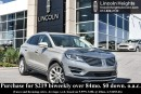 Used 2015 Lincoln MKC AWD - LEATHER - BLUETOOTH - BLIS W/ CROSS TRAFFIC ALERT - NAV for sale in Ottawa, ON