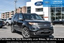 Used 2015 Ford Explorer XLT 4WD - LEATHER - BLUETOOTH - DUAL PANEL MOONROOF - CLASS III TRAILER TOW PKG - BLIND SPOT MONITORING SYSTEM - NAV for sale in Ottawa, ON