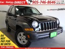 Used 2007 Jeep Liberty Sport| LOCAL TRADE| OPEN SUNDAYS| for sale in Burlington, ON