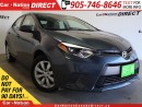 Used 2016 Toyota Corolla LE| BACK UP CAMERA| TOUCH SCREEN| for sale in Burlington, ON