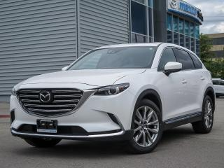 Used 2017 Mazda CX-9 GT SIGNATURE/ AWD/ NAVIGATION/ BLIND SPOT MONITORING/ POWER LIFT GATE/ REAR TRAFFIC ALERT/  HEATER STEERING/ RADAR CRUISE/ FORWARD WARNING... for sale in Scarborough, ON