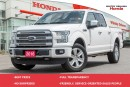 Used 2016 Ford F-150 PLATINUM for sale in Whitby, ON