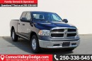 New 2017 Dodge Ram 1500 ST 4X4, KEYLESS ENTRY, BACK UP CAMERA, SATELLITE RADIO, TOW PKG, for sale in Courtenay, BC