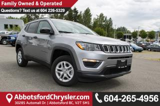 New 2017 Jeep Compass Sport ALL NEW COMPASS for sale in Abbotsford, BC
