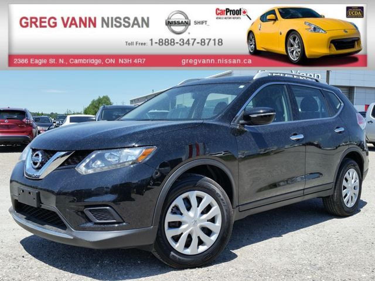 Used 2015 Nissan Rogue S Fwd W Keyless Rear Cam Sirius Xm