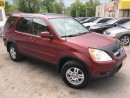 Used 2004 Honda CR-V EX-L/AWD/LEATHER/ROOF/LOADED/ALLOYS for sale in Scarborough, ON
