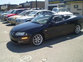 Used 2005 Saab 9-3 AERO CONVERTIBLE!..MANUAL ! for sale in Etobicoke, ON