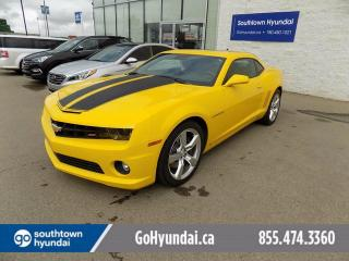 Used 2010 Chevrolet Camaro Leather/Sunroof/Bluetooth for sale in Edmonton, AB
