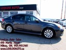 Used 2011 Subaru Legacy 2.5 i Limited PKG Bluetooth Auto Certified 2Yr Wa for sale in Milton, ON