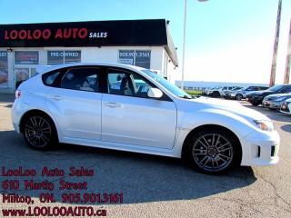Used 2011 Subaru WRX STI Turbo AWD 6 Speed Certified 2YR Warranty for sale in Milton, ON