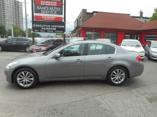 Used 2007 Infiniti G35X DEALER MAINTAINED ONLY WITH RECORDS!! for sale in Scarborough, ON