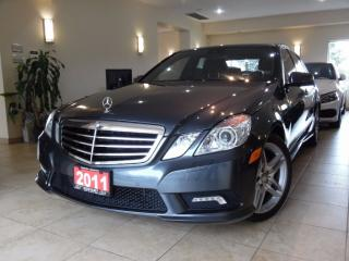Used 2011 Mercedes-Benz E-Class E350 4MATIC|AMG PKG|NAVI|REARCAM|PANOROOF for sale in Toronto, ON
