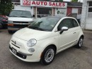 Used 2012 Fiat 500 Clean Carproof/Beautiful Color Combo/Certified for sale in Scarborough, ON