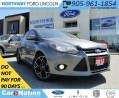 Used 2012 Ford Focus Titanium | HTD LEATHER | SELF PARKING | NAV | for sale in Brantford, ON