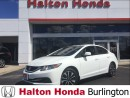 Used 2013 Honda Civic EX / REAR VIEW CAMERA / HEATED SEATS for sale in Burlington, ON