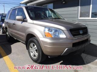 Used 2003 Honda Pilot 4D Utility 4WD for sale in Calgary, AB