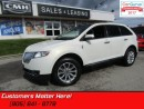 Used 2013 Lincoln MKX AWD, NAVIGATION, PANORAMIC ROOF, POWER GATE, CAMERA for sale in St Catharines, ON