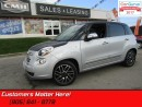 Used 2014 Fiat 500 L Lounge  SUNROOF, LEATHER, NAVIGATION, BLUETOOTH for sale in St Catharines, ON