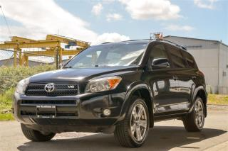 Used 2008 Toyota RAV4 Sport V6 Clean 4x4, Langley Location. for sale in Langley, BC