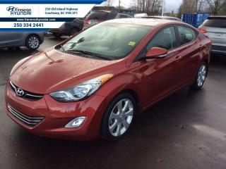 Used 2013 Hyundai Elantra Limited  one owner/non-smoker/Leather, Sunroof for sale in Courtenay, BC