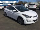 Used 2014 Hyundai Elantra Limited with Navigation  Certified, Navigation, Leather, Sunroof, Bluetooth for sale in Courtenay, BC