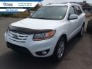 Used 2010 Hyundai Santa Fe Limited  AWD,Leather, Sunroof, Bluetooth for sale in Courtenay, BC