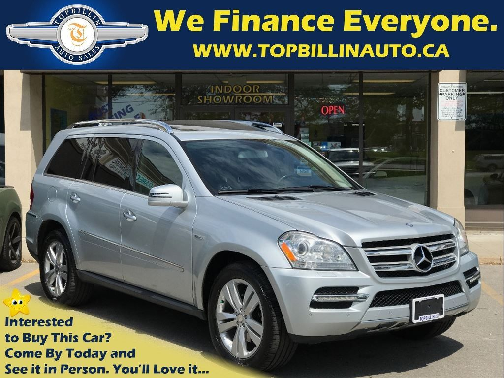 2011 Mercedes-Benz GL-Class Fully Loaded, 2 Set Tires, Service Records