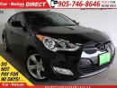 Used 2012 Hyundai Veloster | BACK UP CAMERA| TOUCH SCREEN| PUSH START| for sale in Burlington, ON