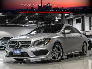 Used 2014 Mercedes-Benz CLA250 AMG BLINDSPOT PANO REAR CAMERA for sale in North York, ON