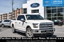 Used 2016 Ford F-150 LARIAT 5.5'. BED 4WD - LEATHER - BLUETOOTH - BLIND SPOT INFO SYSTEM - NAV - TRAILER TOW - REMOTE START for sale in Ottawa, ON