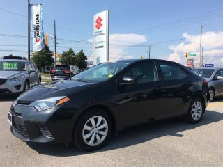 Used 2015 Toyota Corolla LE ~Low Km's ~Heated Seats ~Backup Camera for sale in Barrie, ON