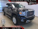 Used 2016 GMC Sierra 2500 HD Denali-6.0L V8, Heated/Cooled Leather, Navigation for sale in Lethbridge, AB