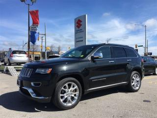 Used 2014 Jeep Grand Cherokee Summit ~Nav ~Backup Camera ~8-Speed for sale in Barrie, ON