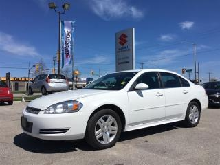 Used 2012 Chevrolet Impala LT ~Low Km ~Power Seat ~Powerful V-6 ~ for sale in Barrie, ON