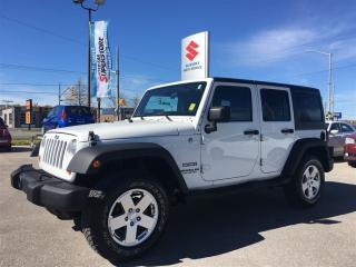 Used 2011 Jeep Wrangler Unlimited Sport ~Removeable Hard & Soft Tops ~It's a Jeep for sale in Barrie, ON