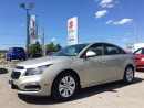 Used 2015 Chevrolet Cruze LT ~Rearview Camera ~Fuel-Efficient for sale in Barrie, ON