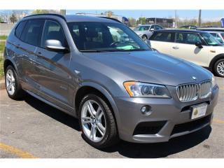 Used 2012 BMW X3 3.99% OAC M Sport Pkg. Navigation for sale in Oakville, ON