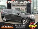 Used 2014 Honda CR-V EX-L *LTHR *BTOOTH *ALLOY WHEELS *SUNROOF for sale in Winnipeg, MB